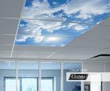 luchtfoto aan plafond