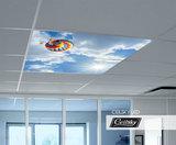 doorlopende foto aan plafond ceilsky