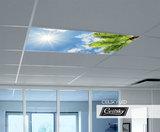 inbouw foto aan plafond