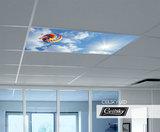 led paneel met foto plafond