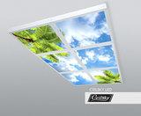 opbouw foto op plafond met led