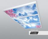 opbouw fotoafbeelding plafond  Ceilsky