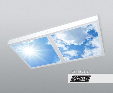 Lucht opbouw fotoplafond