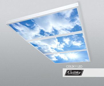Luchtfoto plafond opbouw Ceilsky